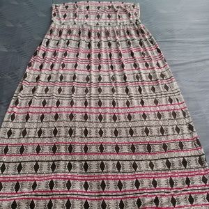 Cynthia Rowley Woman Tribal Prnt Halter/Maxi Dress